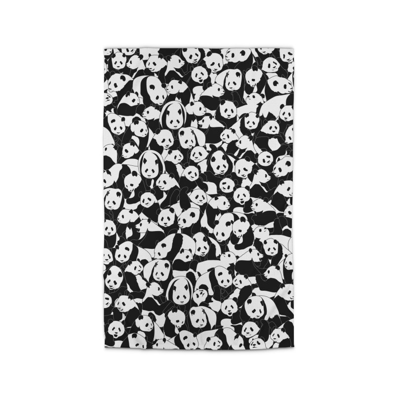 Less Hate More Panda Home Rug by Grandio Design Artist Shop
