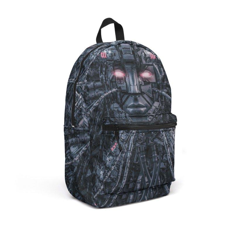 Digital Goddess Reloaded Accessories Backpack Bag by Grandio Design Artist Shop