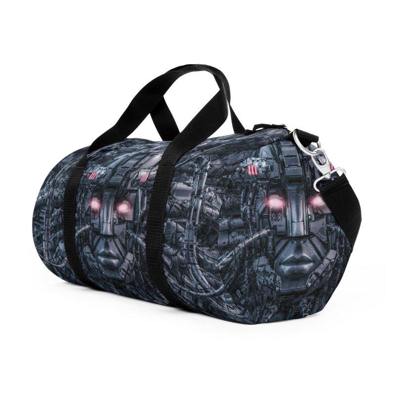 Digital Goddess Reloaded Accessories Duffel Bag Bag by Grandio Design Artist Shop