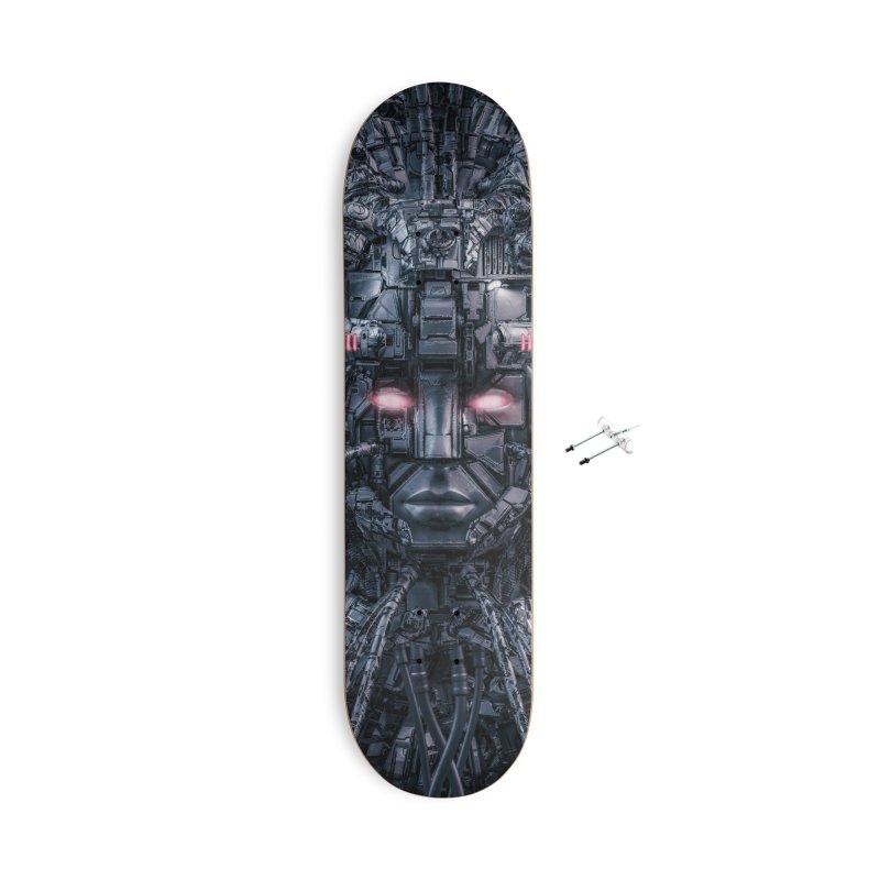 Digital Goddess Reloaded Accessories With Hanging Hardware Skateboard by Grandio Design Artist Shop
