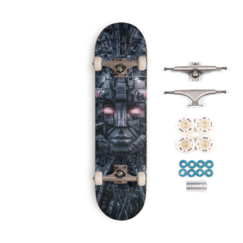 Digital Goddess Reloaded Accessories Complete - Premium Skateboard by Grandio Design Artist Shop
