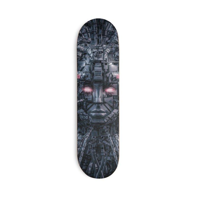 Digital Goddess Reloaded Accessories Deck Only Skateboard by Grandio Design Artist Shop