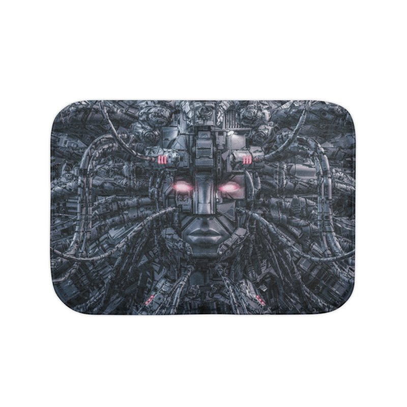 Digital Goddess Reloaded Home Bath Mat by Grandio Design Artist Shop