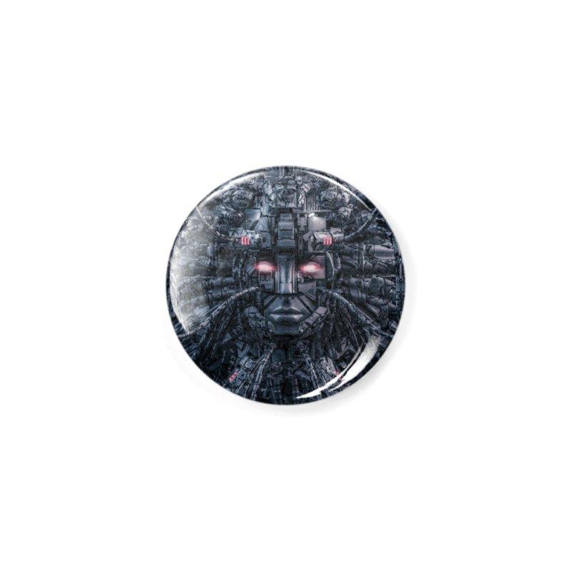 Digital Goddess Reloaded Accessories Button by Grandio Design Artist Shop