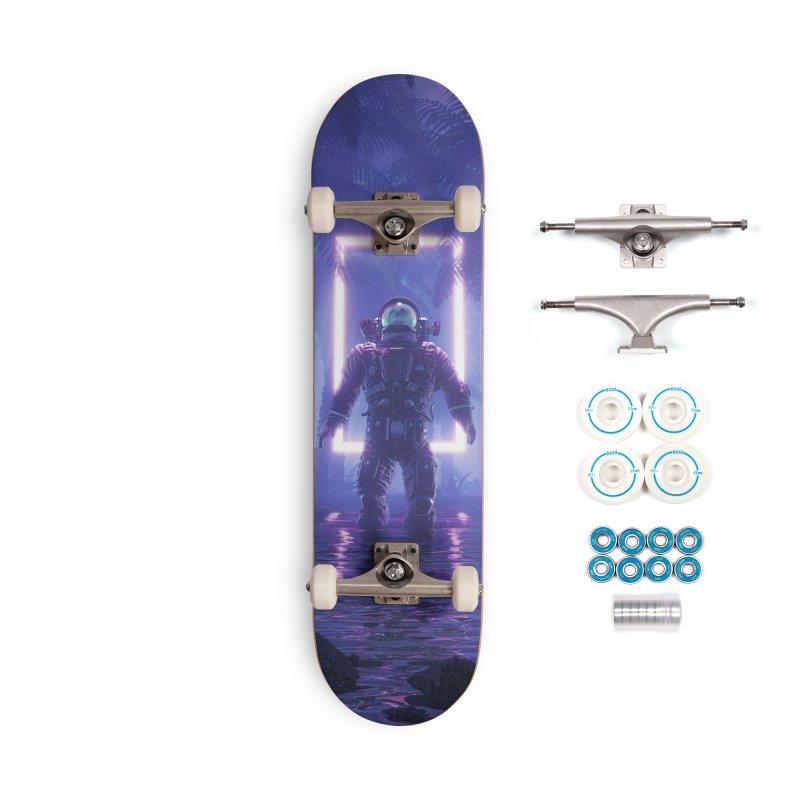 Lost In The Neon Jungle Accessories Complete - Basic Skateboard by Grandio Design Artist Shop