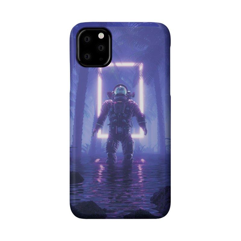 Lost In The Neon Jungle Accessories Phone Case by Grandio Design Artist Shop