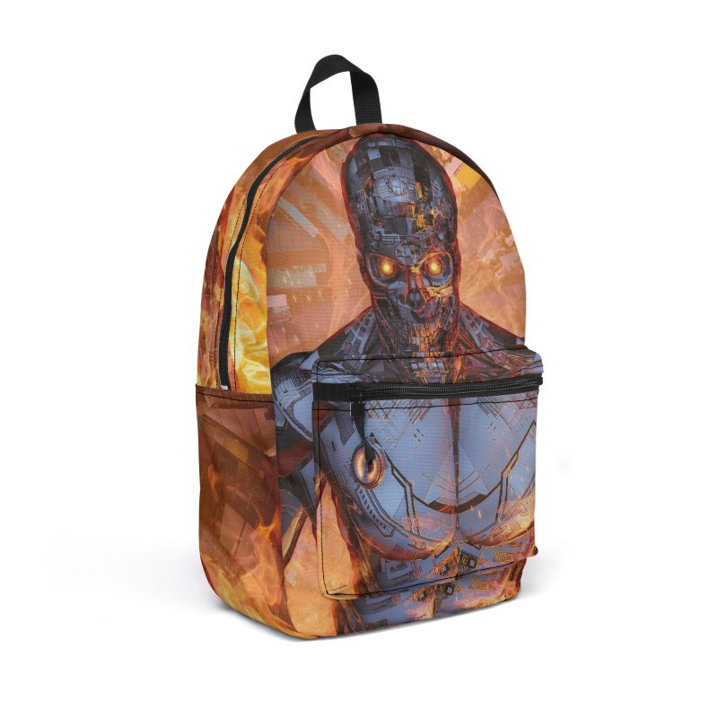 The Fury Accessories Backpack Bag by Grandio Design Artist Shop
