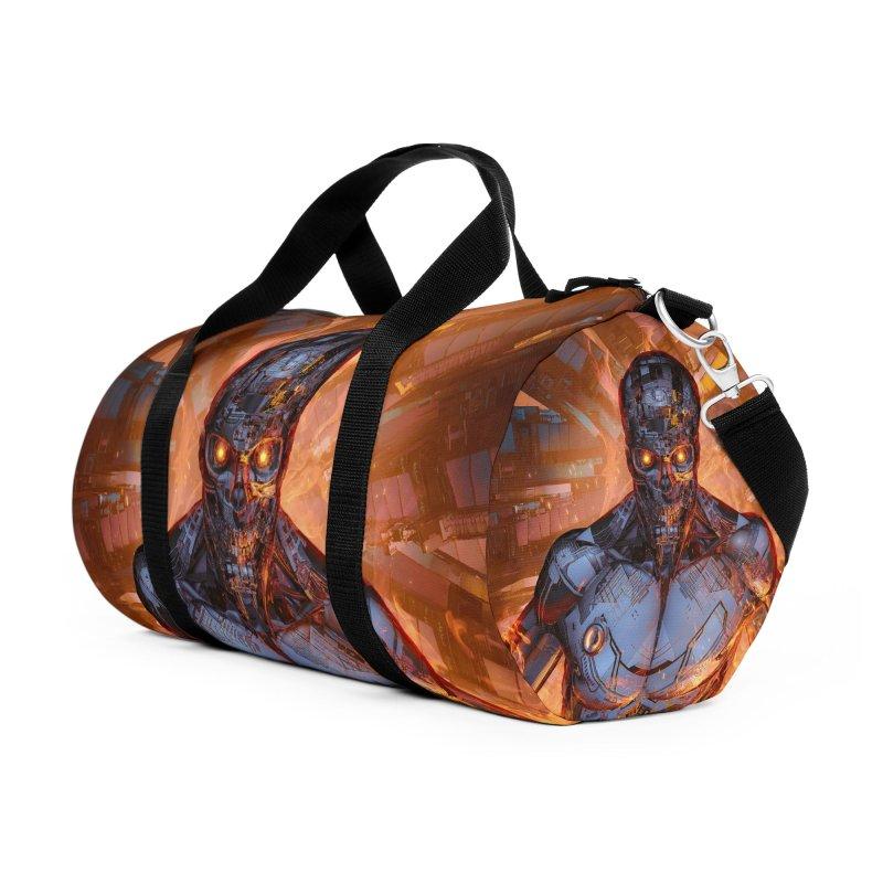 The Fury Accessories Duffel Bag Bag by Grandio Design Artist Shop