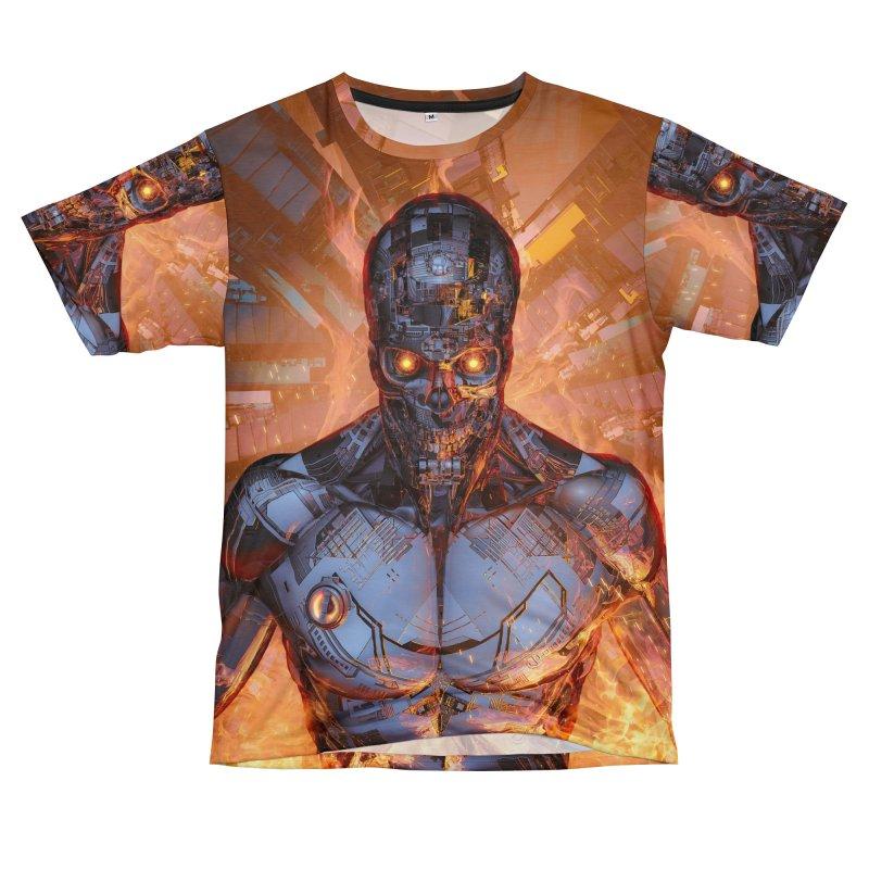 The Fury Women's Unisex T-Shirt Cut & Sew by Grandio Design Artist Shop