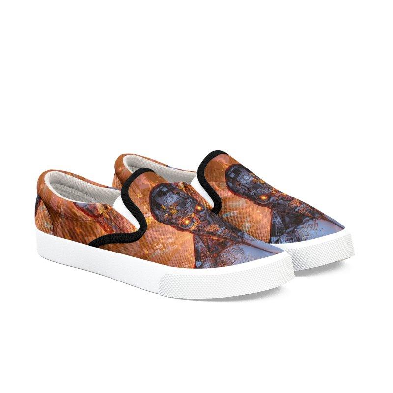 The Fury Women's Slip-On Shoes by Grandio Design Artist Shop