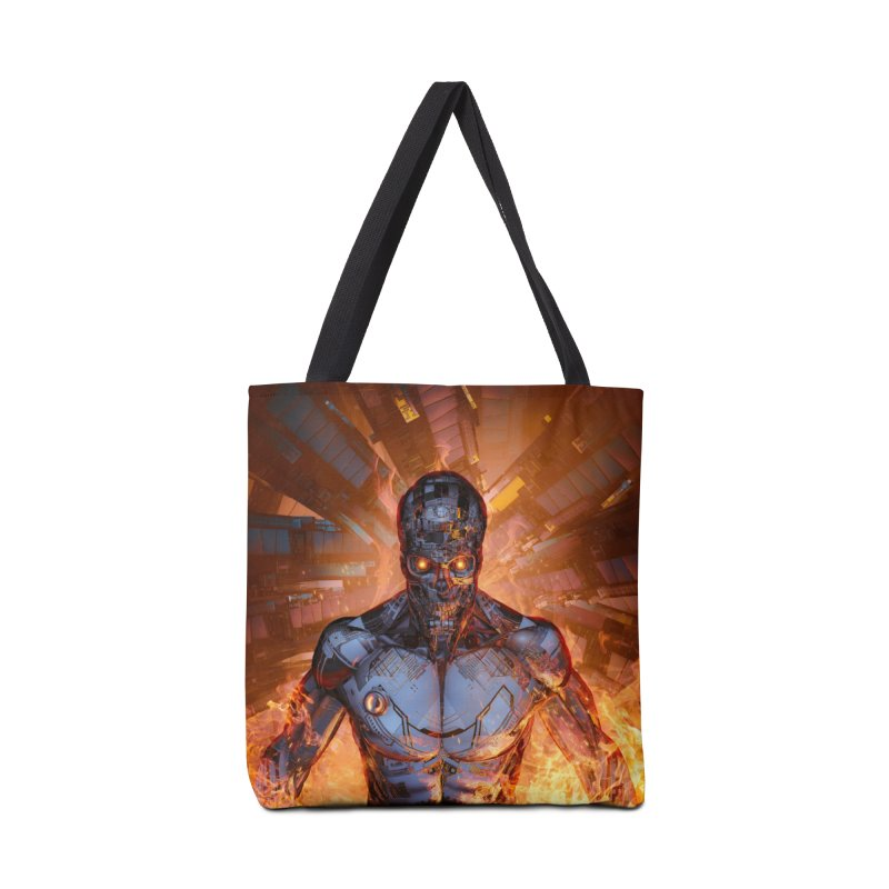 The Fury Accessories Tote Bag Bag by Grandio Design Artist Shop