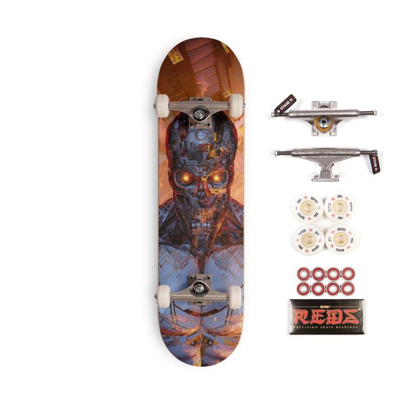 The Fury Accessories Complete - Pro Skateboard by Grandio Design Artist Shop
