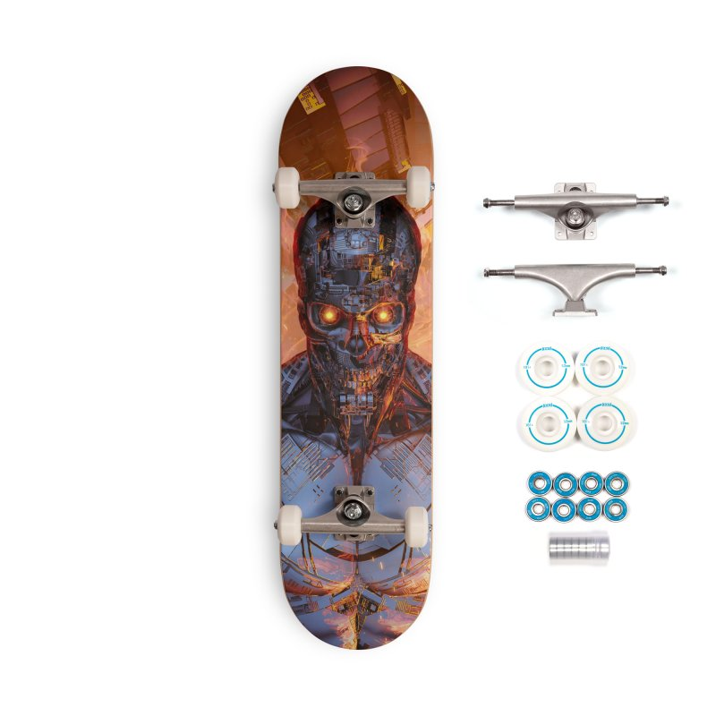 The Fury Accessories Complete - Basic Skateboard by Grandio Design Artist Shop