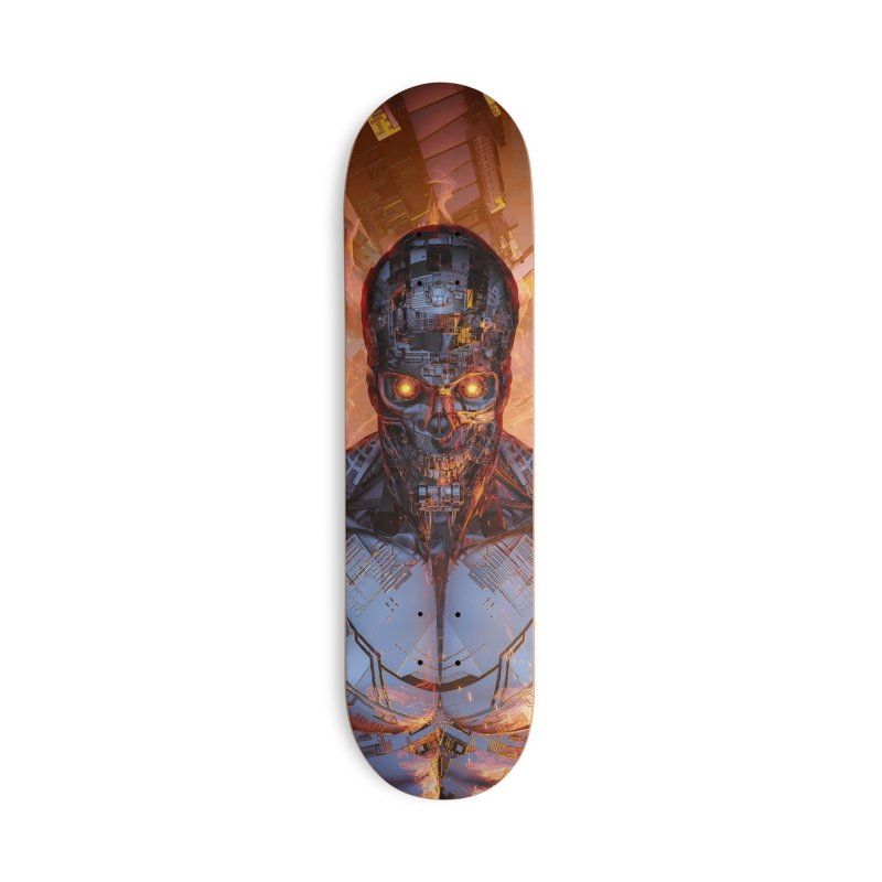 The Fury Accessories Deck Only Skateboard by Grandio Design Artist Shop
