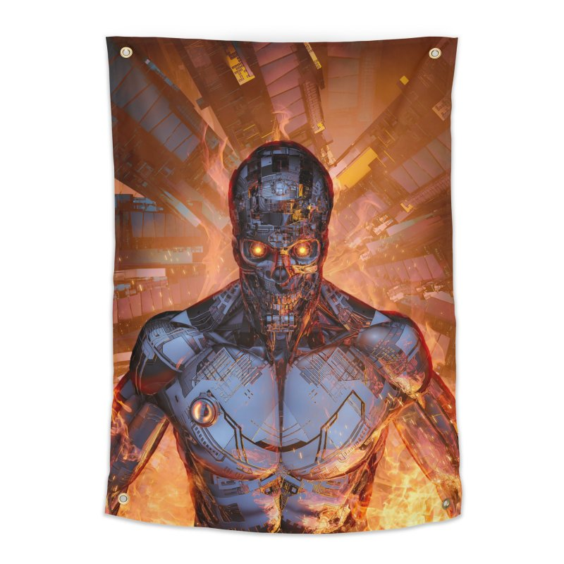 The Fury Home Tapestry by Grandio Design Artist Shop