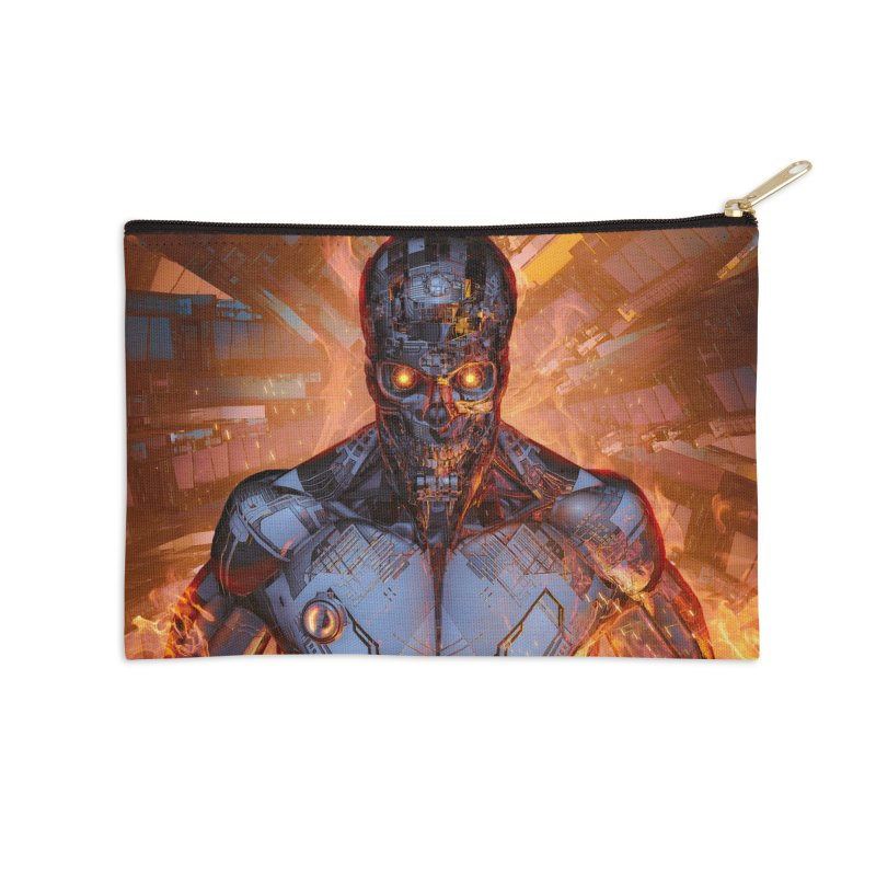 The Fury Accessories Zip Pouch by Grandio Design Artist Shop