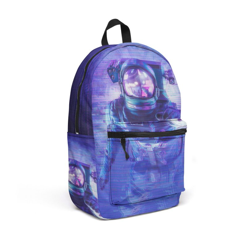 Transmission Error Accessories Backpack Bag by Grandio Design Artist Shop