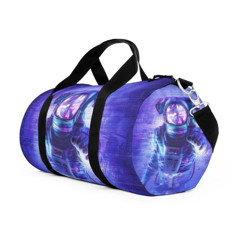 Transmission Error Accessories Duffel Bag Bag by Grandio Design Artist Shop