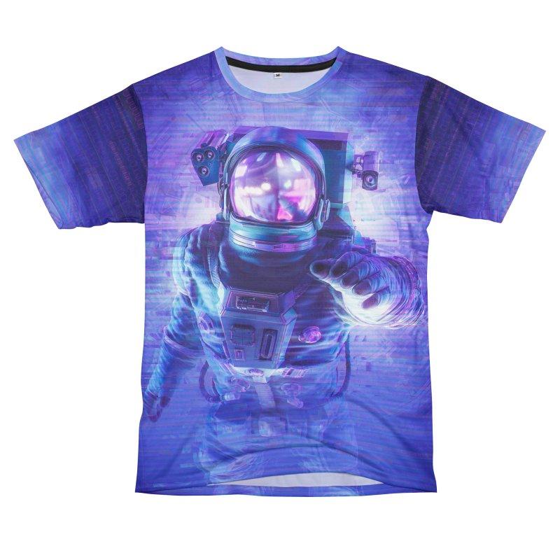 Transmission Error Women's Unisex T-Shirt Cut & Sew by Grandio Design Artist Shop