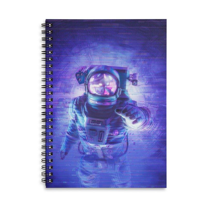 Transmission Error Accessories Lined Spiral Notebook by Grandio Design Artist Shop