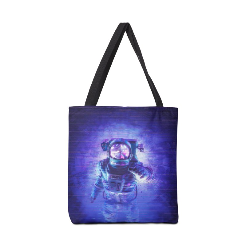 Transmission Error Accessories Tote Bag Bag by Grandio Design Artist Shop