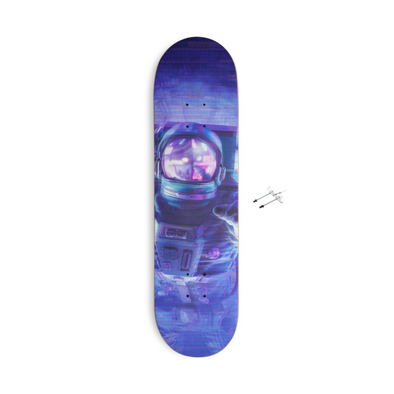 Transmission Error Accessories With Hanging Hardware Skateboard by Grandio Design Artist Shop