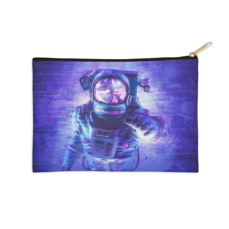 Transmission Error Accessories Zip Pouch by Grandio Design Artist Shop