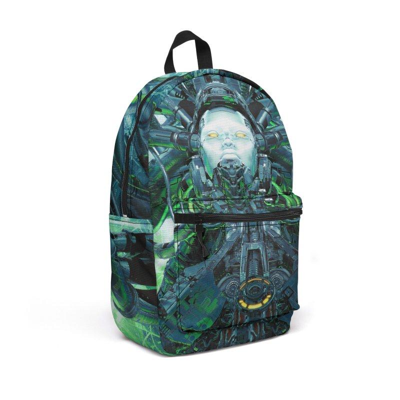 Artificial Angel Accessories Backpack Bag by Grandio Design Artist Shop
