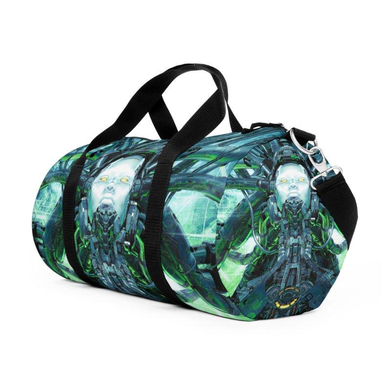 Artificial Angel Accessories Duffel Bag Bag by Grandio Design Artist Shop