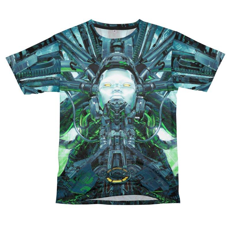 Artificial Angel Men's T-Shirt Cut & Sew by Grandio Design Artist Shop