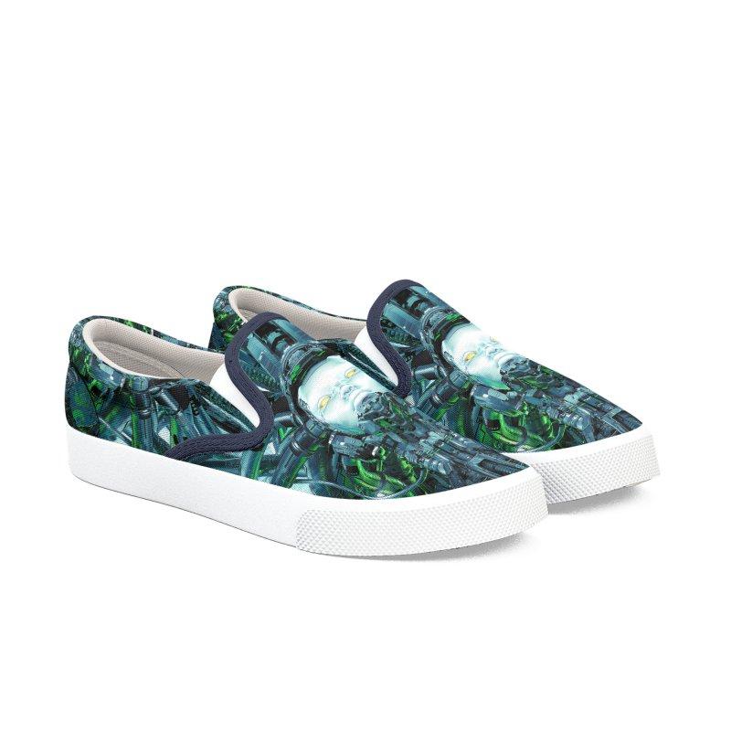 Artificial Angel Men's Slip-On Shoes by Grandio Design Artist Shop