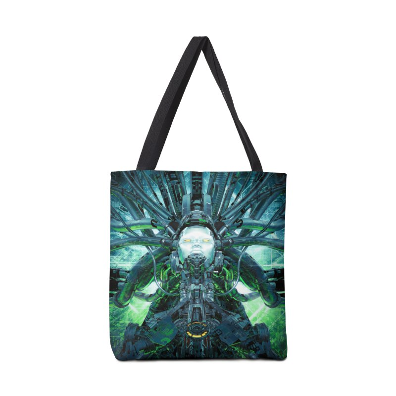 Artificial Angel Accessories Tote Bag Bag by Grandio Design Artist Shop