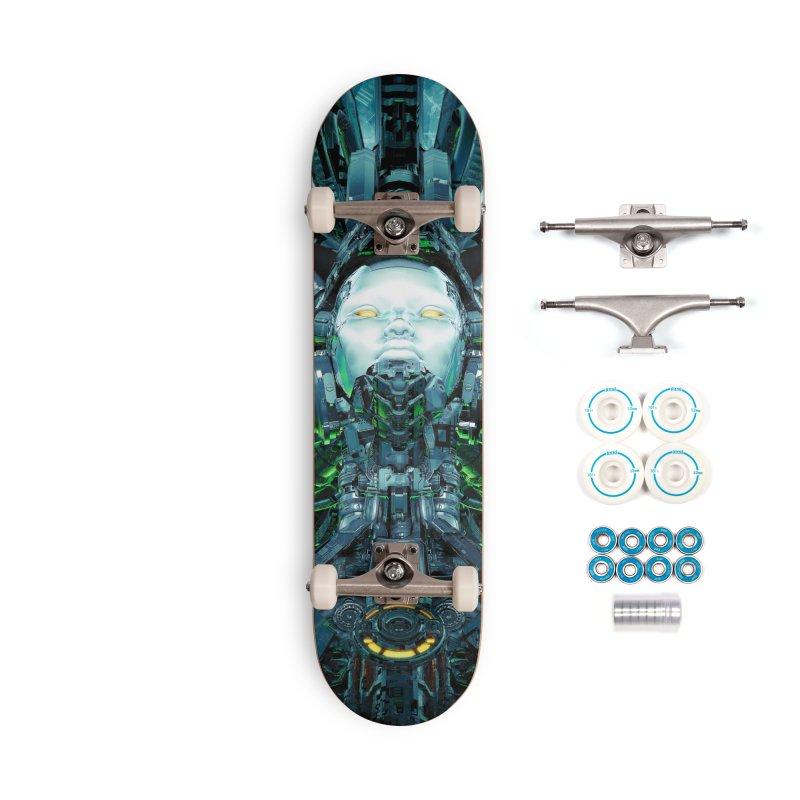 Artificial Angel Accessories Complete - Basic Skateboard by Grandio Design Artist Shop