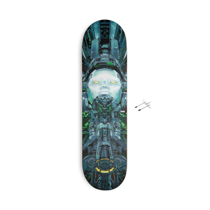 Artificial Angel Accessories With Hanging Hardware Skateboard by Grandio Design Artist Shop