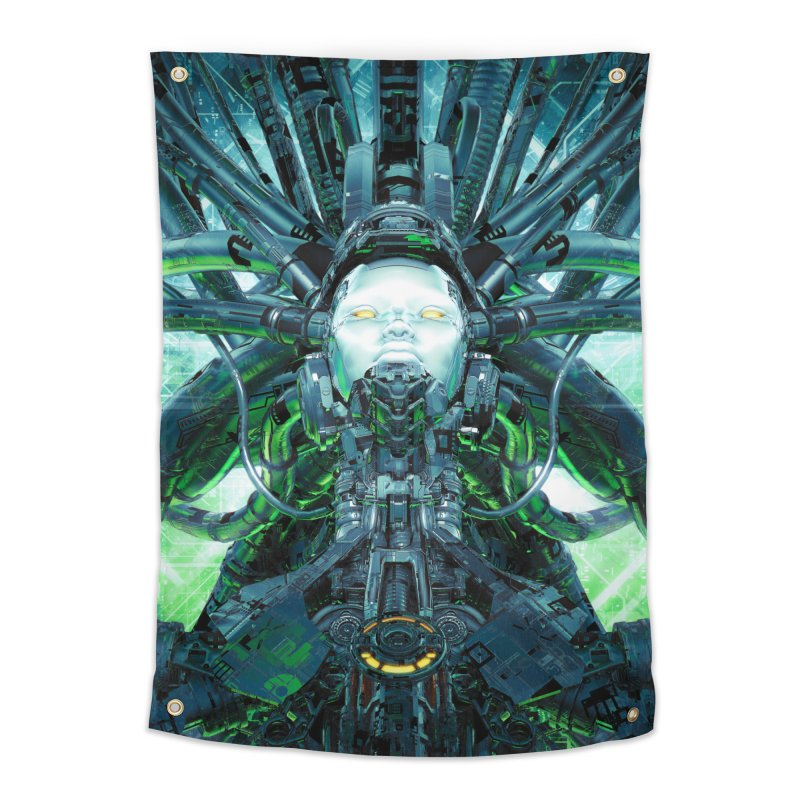 Artificial Angel Home Tapestry by Grandio Design Artist Shop