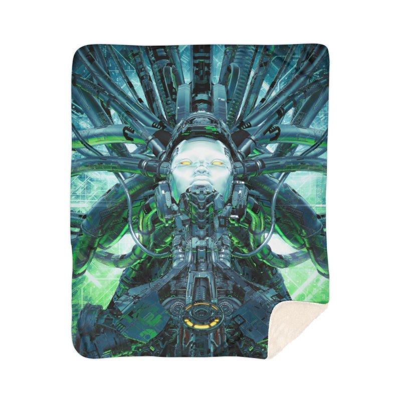 Artificial Angel Home Sherpa Blanket Blanket by Grandio Design Artist Shop