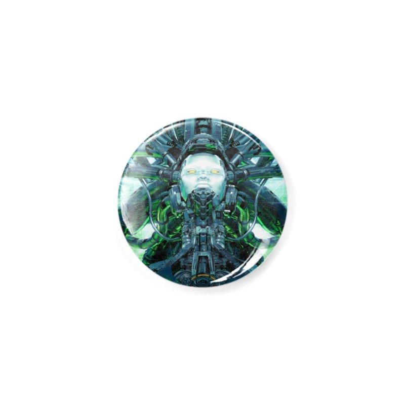 Artificial Angel Accessories Button by Grandio Design Artist Shop