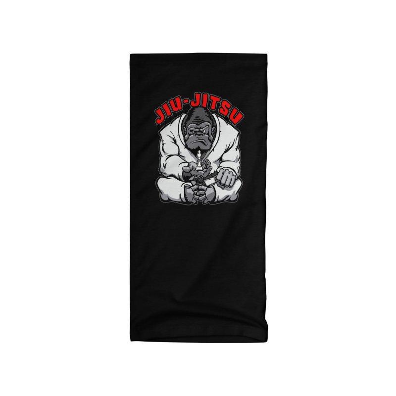 Brazilian Jiu Jitsu MMA BJJ Gorilla Grappling Chess King Accessories Neck Gaiter by Grandio Design Artist Shop