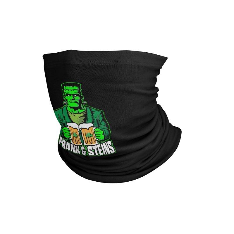 Frank & Steins St. Patrick's Day Frankenstein Monster Beer Accessories Neck Gaiter by Grandio Design Artist Shop
