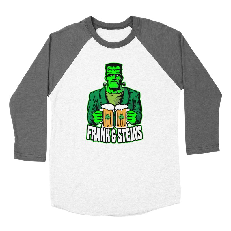 Frank & Steins St. Patrick's Day Frankenstein Monster Beer Women's Longsleeve T-Shirt by Grandio Design Artist Shop