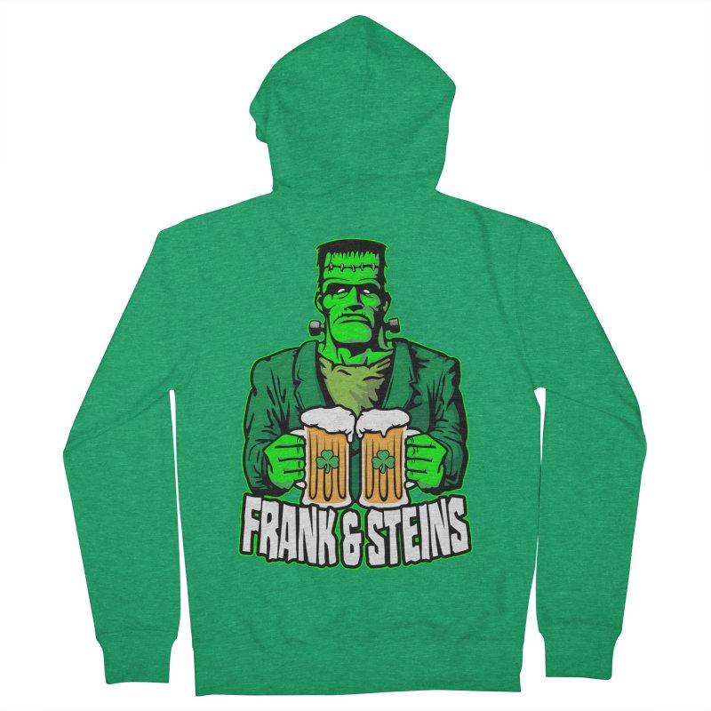 Frank & Steins St. Patrick's Day Frankenstein Monster Beer Women's Zip-Up Hoody by Grandio Design Artist Shop