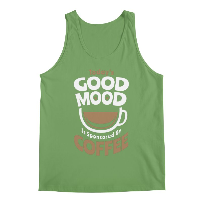 Today's Good Mood Is Sponsored By Coffee Smiley Face Cup Men's Tank by Grandio Design Artist Shop