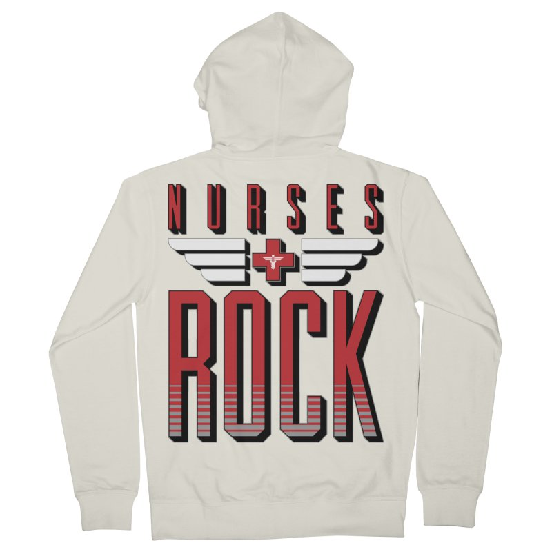 Nurses ROCK Women's Zip-Up Hoody by Grandio Design Artist Shop