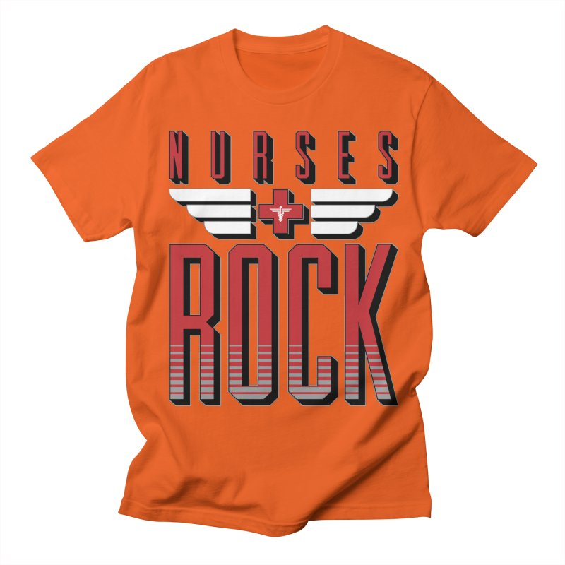 Nurses ROCK Men's T-Shirt by Grandio Design Artist Shop