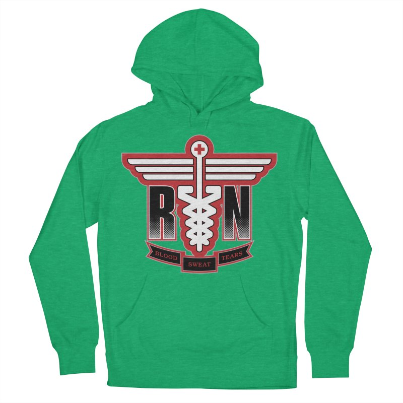 Registered Nurse Men's Pullover Hoody by Grandio Design Artist Shop