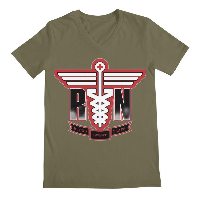 Registered Nurse Men's V-Neck by Grandio Design Artist Shop