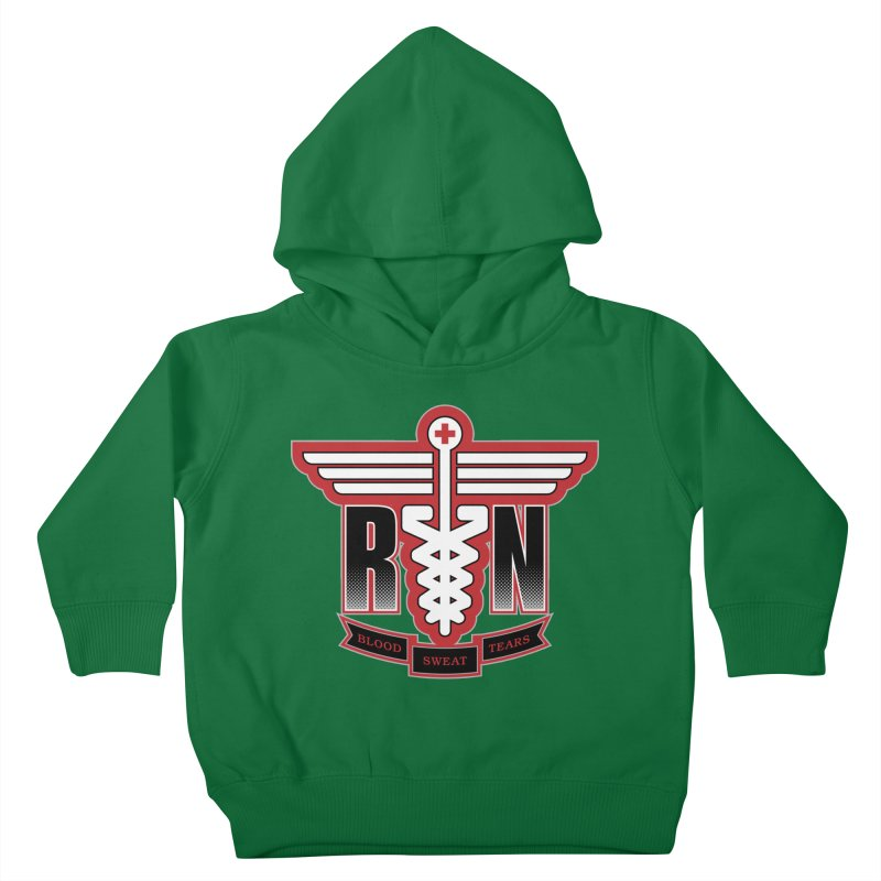 Registered Nurse Kids Toddler Pullover Hoody by Grandio Design Artist Shop