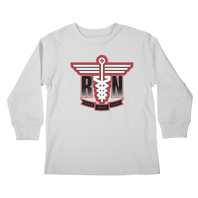 Registered Nurse Kids Longsleeve T-Shirt by Grandio Design Artist Shop