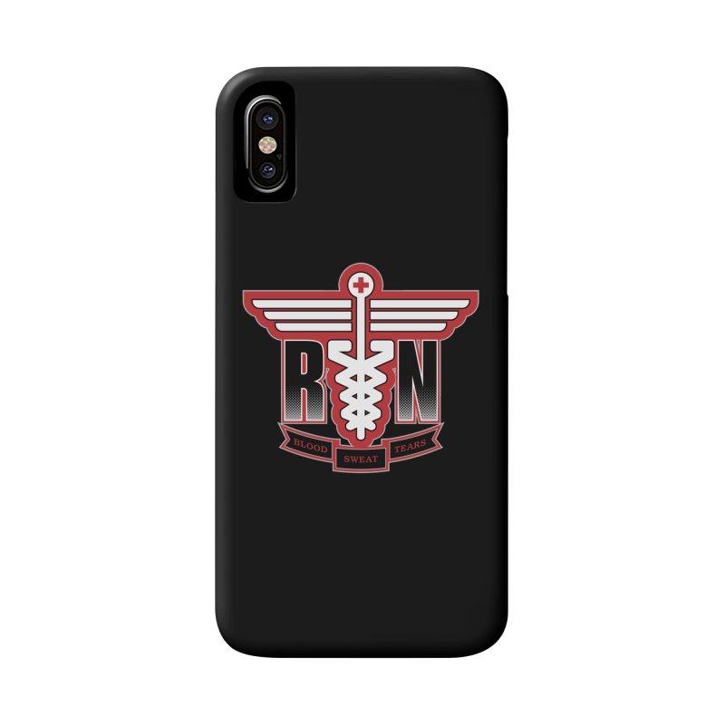 Registered Nurse Accessories Phone Case by Grandio Design Artist Shop
