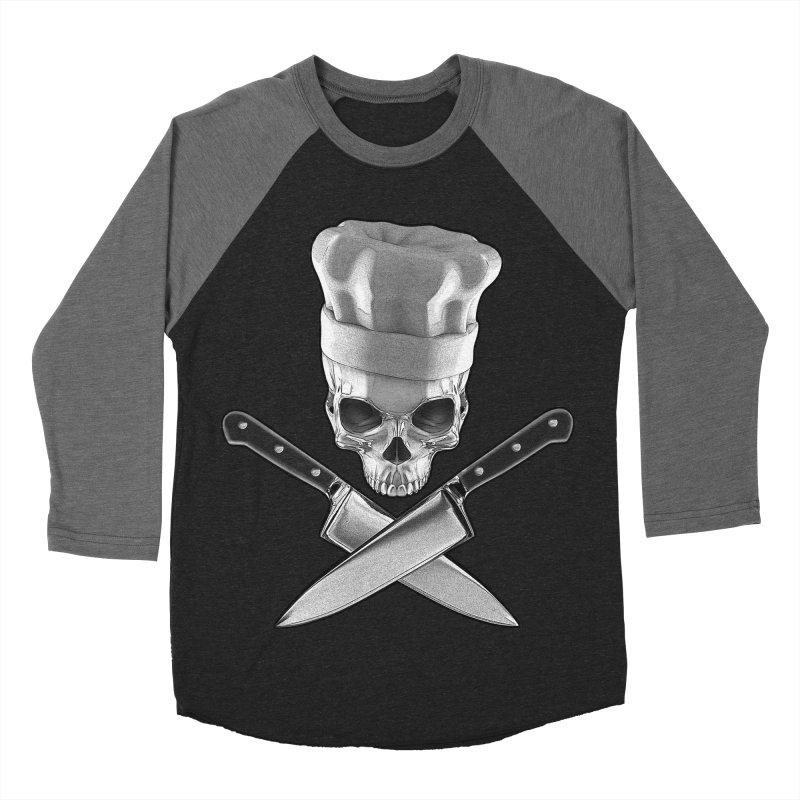 Def Chef Men's Baseball Triblend T-Shirt by Grandio Design Artist Shop